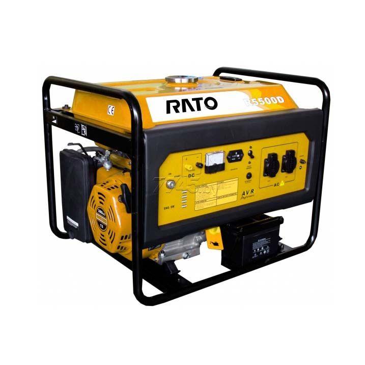 Бензиновый генератор RATO R5500 (5.5кВт)