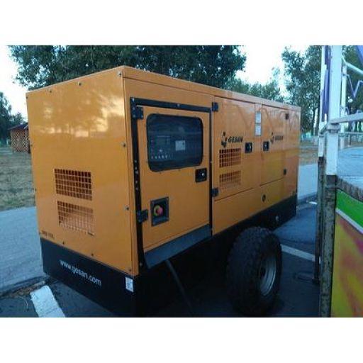 Мобильный дизельный генератор GESAN DPAS 110 E (Испания)